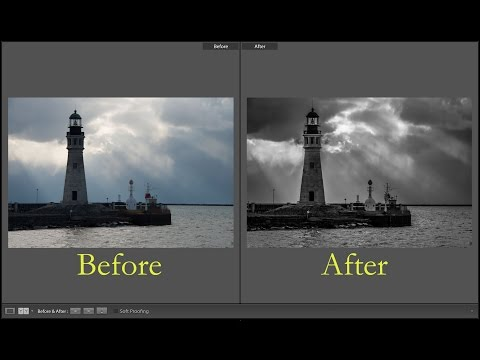 Learn Lightroom 6 / CC - Episode 3: Process a B&W Image