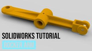 SolidWorks Tutorial #41: Rocker Arm