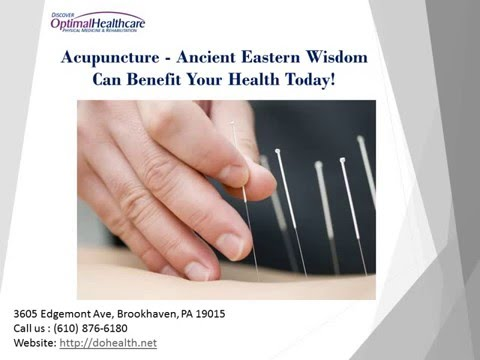 Acupuncture   Ancient Eastern Wisdom Can Benefit Your Health Today!