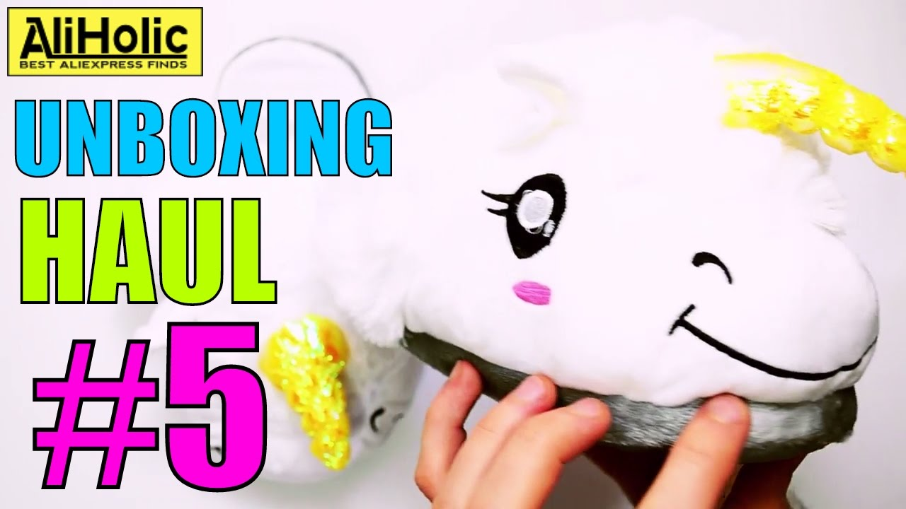 Unboxing Haul #5 - Reviewing and testing products from #AliExpress   by AliHolic