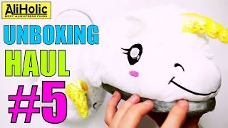 Unboxing Haul #5 - Reviewing and testing products from #AliExpress | by AliHolic