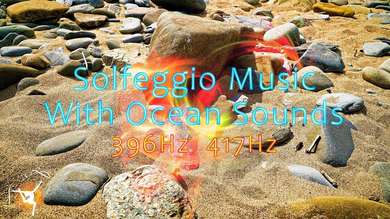Relaxing Deep Bass Music - Solfeggio Meditation 396Hz & 417Hz - The  Peaceful Ocean - #0034