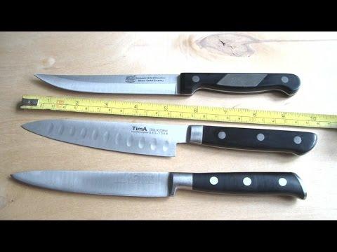 Ножи TimA, Rondell, BORNER