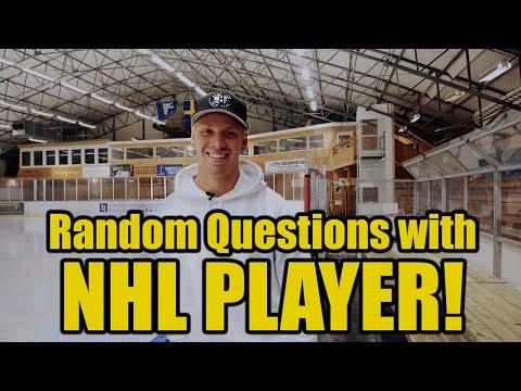 20 Random Questions With NHL Player Jesper Bratt Of New Jersey Devils