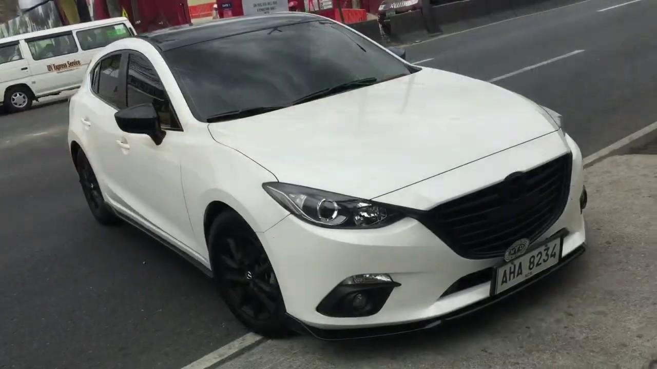 1 5 Mazda 3 Skyactiv Axelback Exhaust System Drift Xaust Youtube