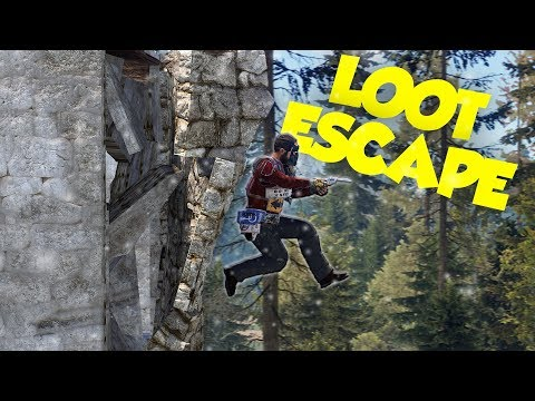 ESCAPING A LOCKED BASE FULL OF LOOT - Rust thumbnail