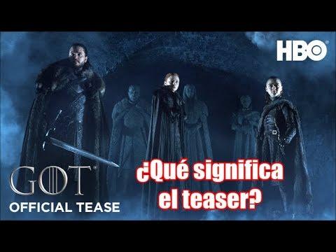 Final de Juego de Tronos: Análisis del teaser oficial