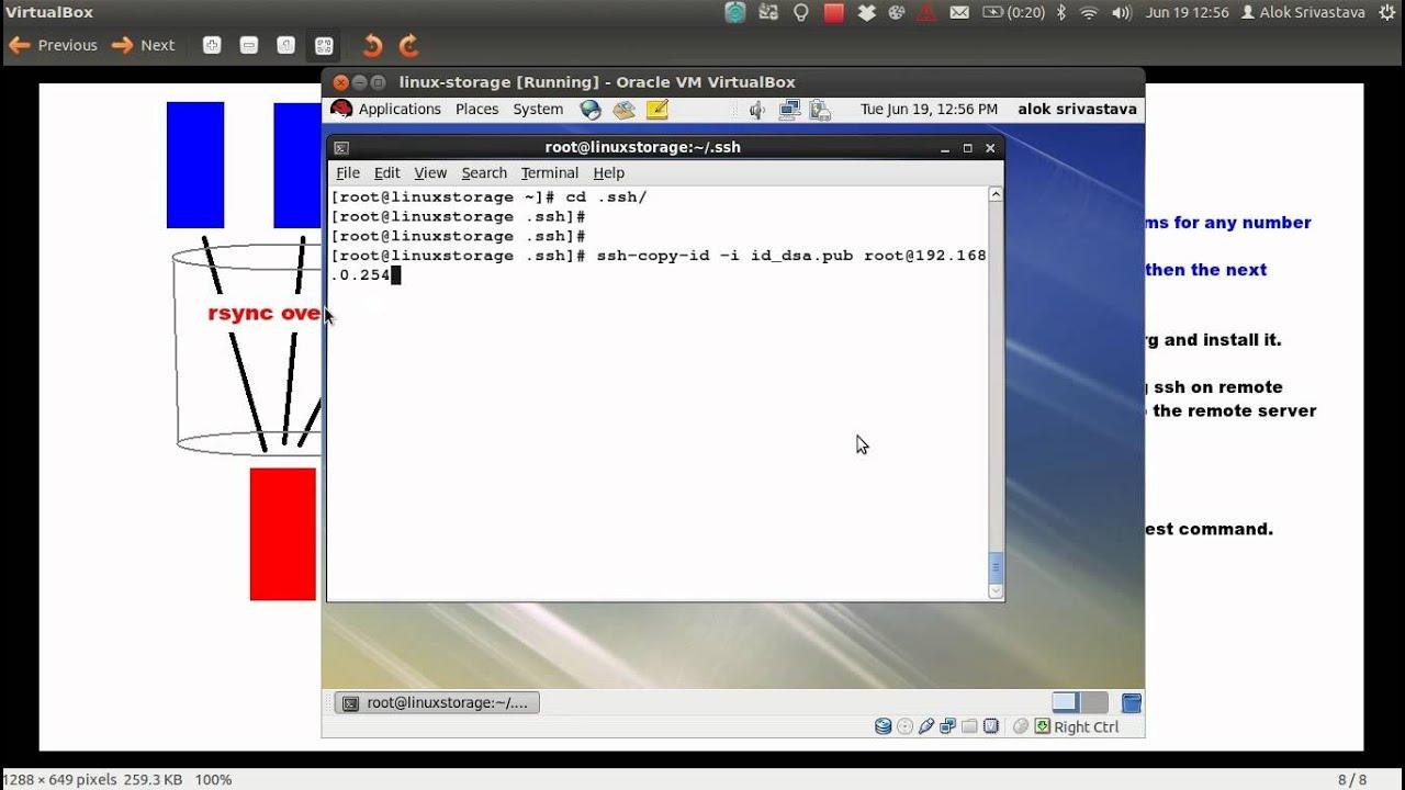Remote Backup of Linux Servers using rsnapshot | Network