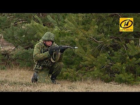 Тактическое учение зенитно-ракетных войск прошло в Бобруйском районе