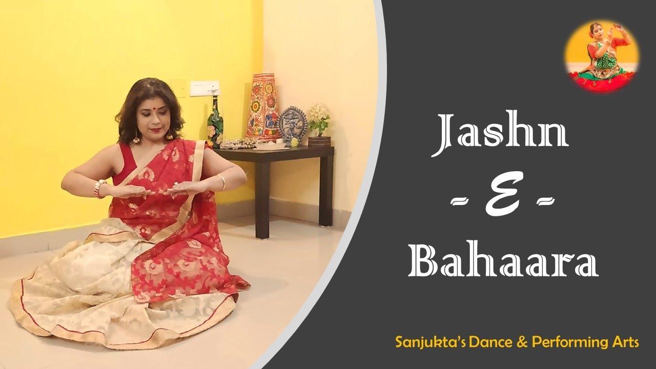 Jashn-E-Bahaara | Jodha Akbar | Sit Down Choreography | Quarantine Video | Dance by Sanjukta Ghosh