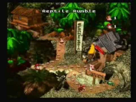 Let's Play Donkey Kong Country (Co-op) - Part 1 - Take 2. ACTION!!