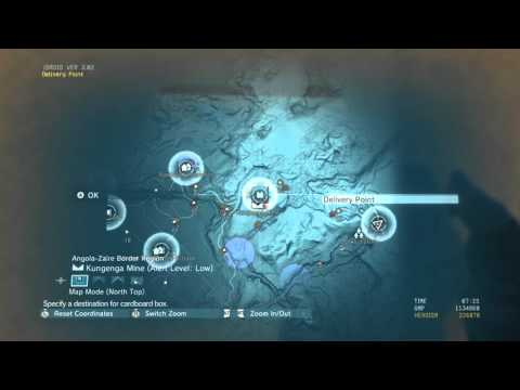 MGS5 All Africa Delivery Points