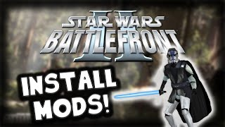 Star Wars Battlefront II: Install Maps & Mods 2017 - Quick Tutorial