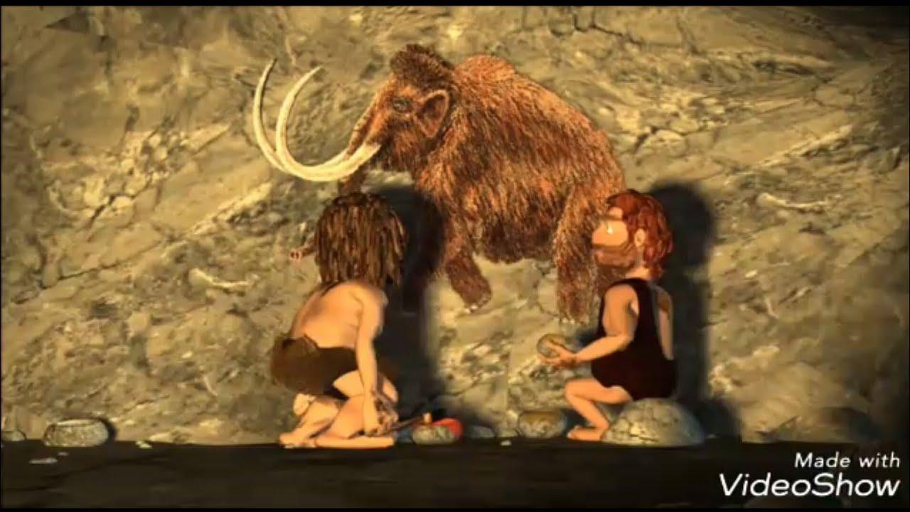 kartun lucu manusia purba - YouTube