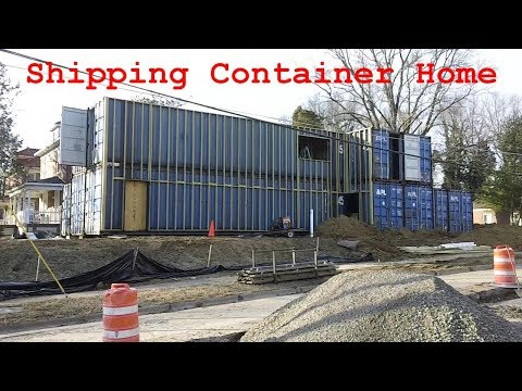 Shipping Container Home (Washington & Middle Streets) Cape Giradeau, MO - USA