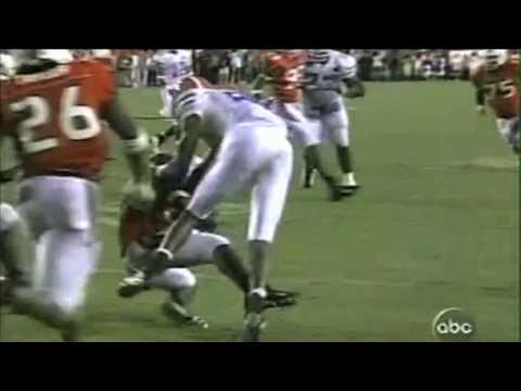2003 Miami Hurricanes vs. Florida Gators Highlights
