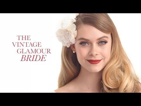 Wedding Makeup Tutorial: The Vintage Glamour Bride