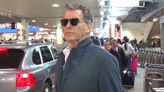 Pierce Brosnan Doesn't Want To Talk About Donald Trump's Inauguration