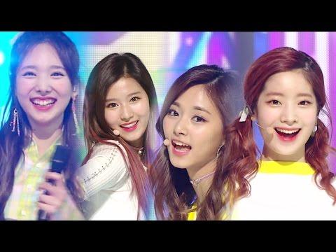 《CUTE》 TWICE - KNOCK KNOCK @인기가요 Inkigayo 20170312