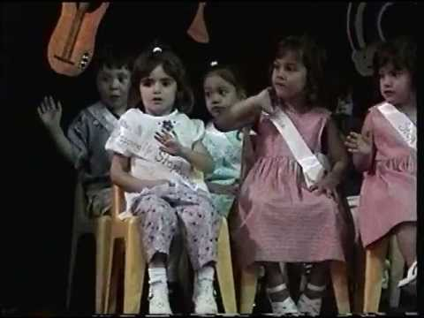 Stephanie Graduates from Trinity Nursery School (June 6, 2002)
