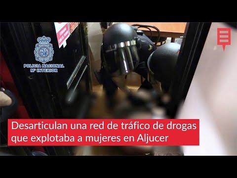 Desarticulan una red de tráfico de drogas que explotaba a mujeres en Aljucer