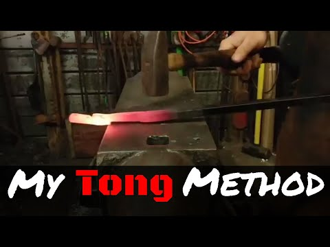 My Method for Forging Blacksmith Tongs