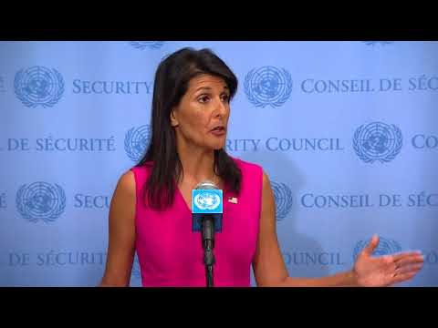New US sanctions on Venezuela send strong message to Maduro: -Haley
