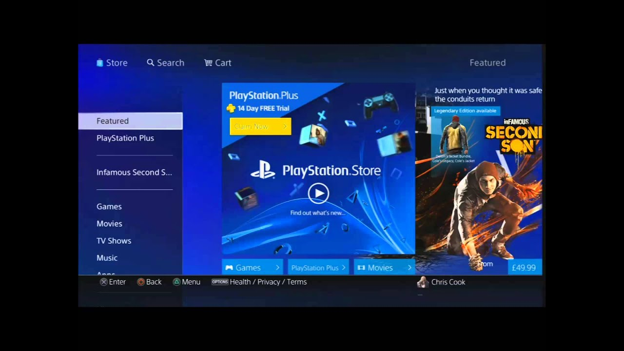 How to redeem codes on PlayStation 4 (PS4) - YouTube