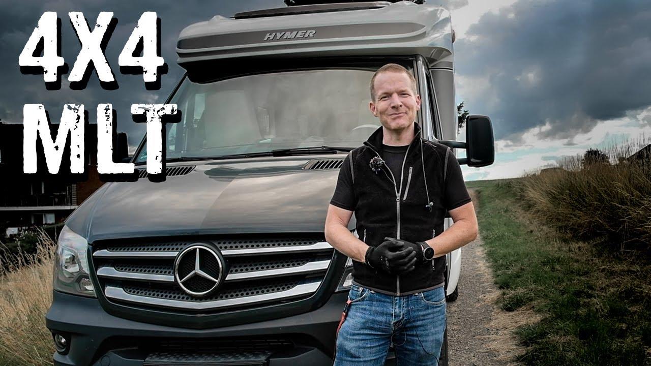 Mercedes Sprinter 4x4 mit Hymer MLT Roomtour [263]