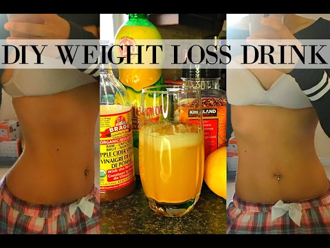 DIY FLAT BELLY WEIGHT LOSS DRINK | HOW TO LOSE WEIGHT & GET A FLAT BELLY IN A WEEK | ALL NATURAL