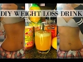 DIY FLAT BELLY WEIGHT LOSS DRINK | LOSE BELLY FAT & BURN FAT IN 1 WEEK | NO EXERCISE, ALL NATURAL