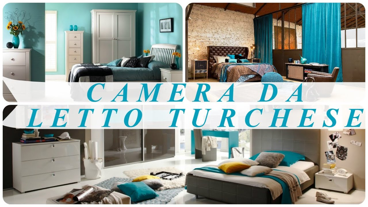 Camera Da Letto Parete Turchese : Camera da letto turchese youtube