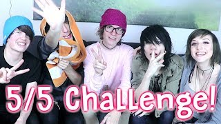 Try Not To Laugh Challenge!! with 5/5 OUR WORLD AWAY