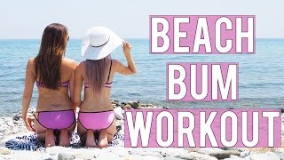 Beach Bum Workout with Carly Rowena | Inthefrow