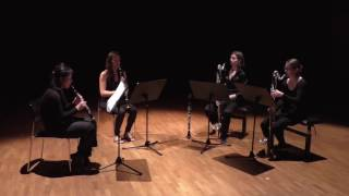 Urlo Introverso - for Clarinet Quartet - Music by Karim Younis
