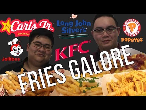 We find out the BEST FAST FOOD FRIES in SINGAPORE!