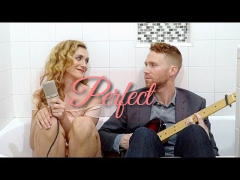 Ed Sheeran - Perfect || Alyson Stoner feat. Travis Loafman (Bathtub Cover)