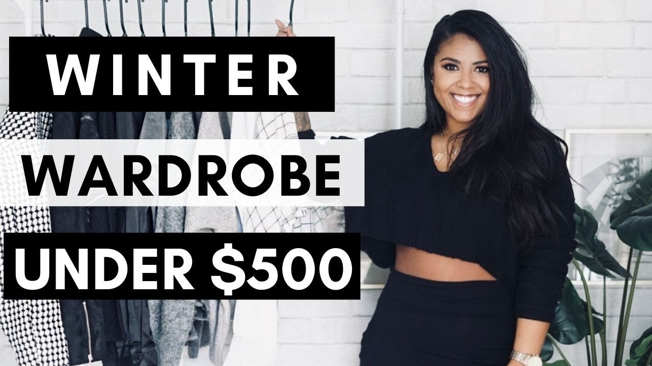[VIDEO] - Winter Wardrobe Lookbook (Under $500) Bougie On A Budget 3