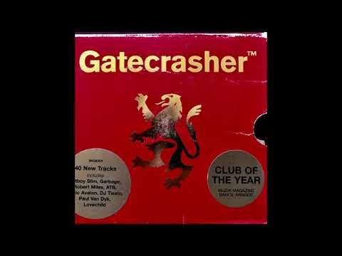Gatecrasher Red CD 1