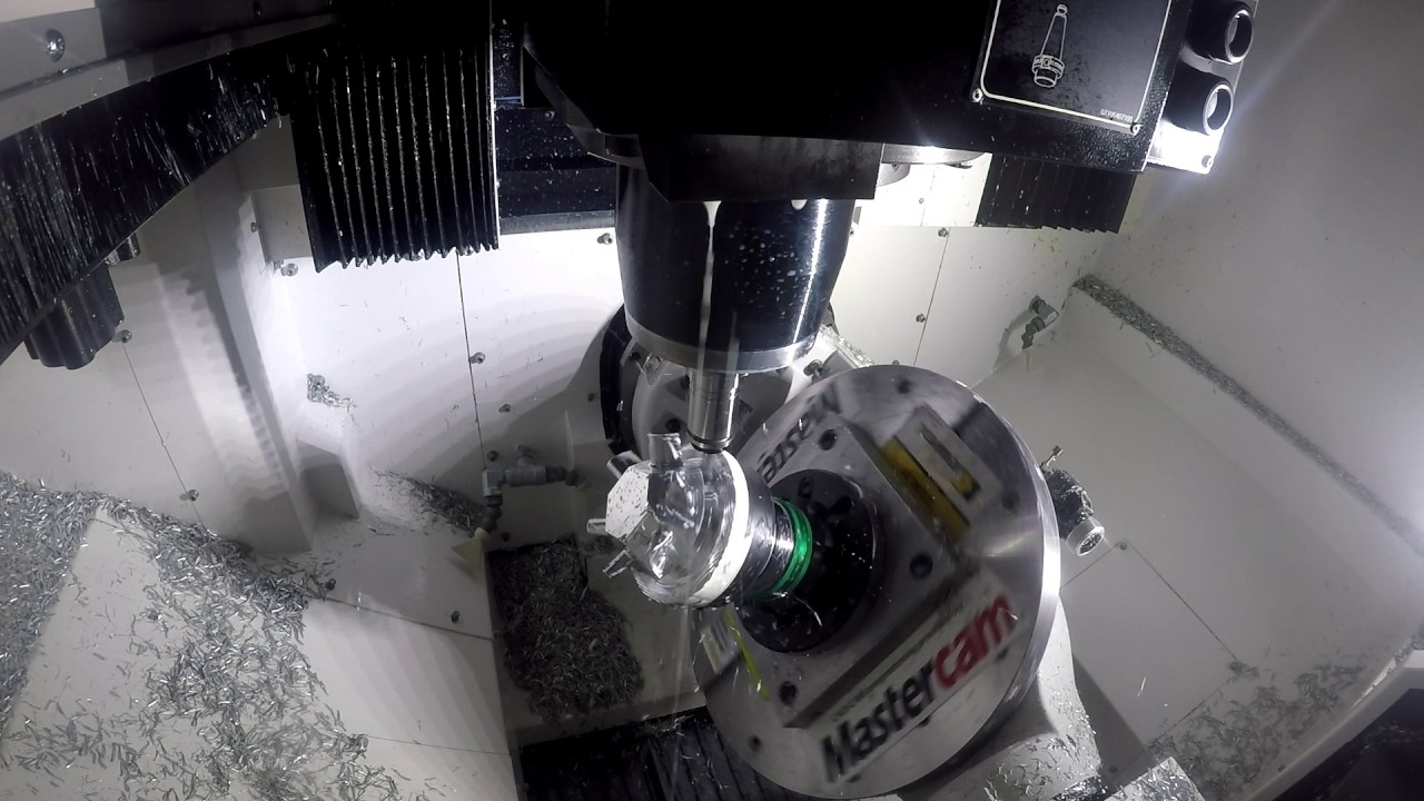 Mastercam Mazak Vc 500a 5x Dynamic Milling And Simultaneous 5 Axis Smooth