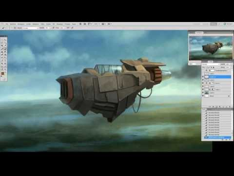 Concept Art: Aircraft design from sketch to final rendering - with Davide Fabrizzi
