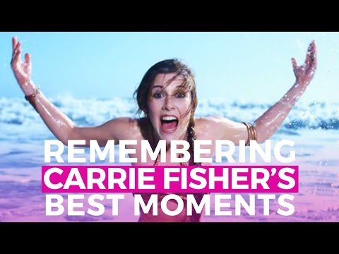 Remembering Carrie Fisher's Best Moments