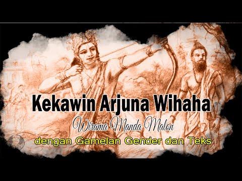 Kekawin Arjuna Wihaha - Wirama  Manda Malon