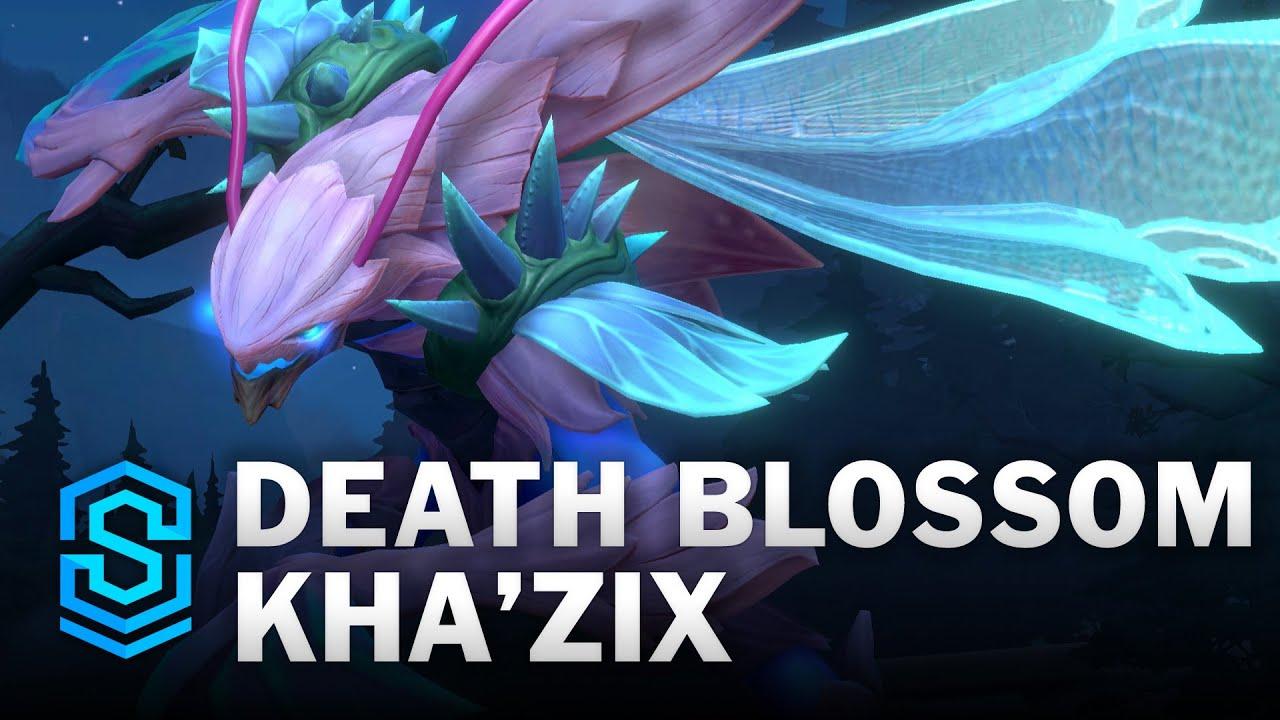Death Blossom Kha'Zix Wild Rift Skin Spotlight