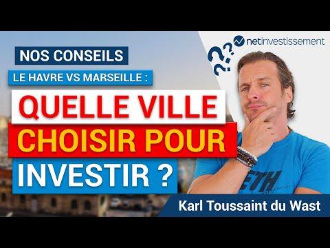 Quelle ville choisir pour investir : Le Havre ou Marseille ? Tous nos conseils [Vidéo BFM]