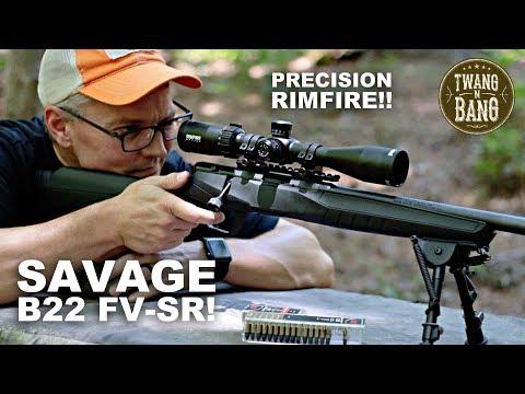 Savage B22 FV-SR! Precision Rimfire