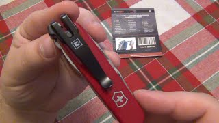 Pocket Clip For Your Victorinox Swiss Army Knives (SwissQlip)