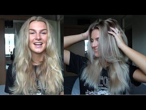 Van Blond Naar Grijs Met Zilver Shampoo Valerie Josie Youtube
