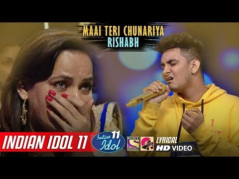 rishabh-indian-idol-11---maai-teri-chunariya---neha-kakkar---anu-malik---vishal---2019