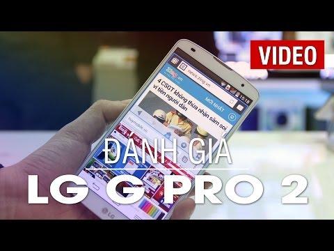 Đánh giá chi tiết phablet LG G Pro 2 tại Huymobile.vn